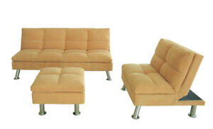 Factory direct   click clack sofa sets