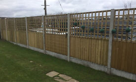 🌳Tanalised Trellis Garden Fence Panels - Various Sizes🌲