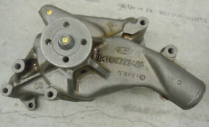 1965 Ford Thunderbird Original Rebuilt Water Pump D4TE-8505-a2a