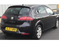 2007 SEAT LEON 1.9 TDI STYLANCE+1 OWNER+FULL HISTORY+LOW MILEAGE+HPI CLEAR!