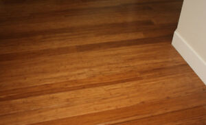Beautiful Solid Strand Woven Carbonized Bamboo Flooring