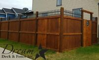 Calgary Deck and Fence Leader ( Dream Deck and Fence Inc. )