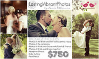 Lasting Vibrant Photos Booking Weddings for 2017