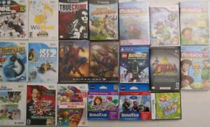 Wii & Wii U Games/Console + Mobigo & Innotab Games