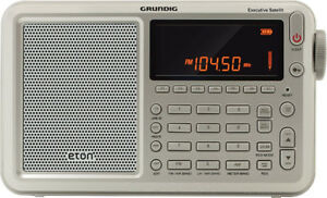 Eton Executive Satellite Audio Component, Grey (NGWSATEXEC) Shor