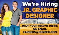 Jr. Graphic Designer Wanted