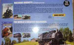 Railway Journeys & Greatest Railroads DVD Collection