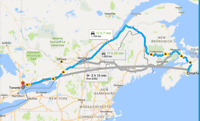 Rideshare (one-way) from Halifax to Toronto on June 8th.