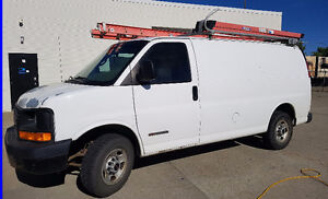 2006 GMC Savana Cargo Service Van, HVAC or Mechanical