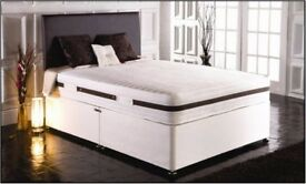 ❋❋ LONG LASTING BED & MATTRESS❋❋ DOUBLE DIVAN BED BASE WITH DIFFERENT TYPES OF MATTRESSES