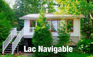 *** LAC BEAULAC, NAVIGABLE *** 14641 Route 335, Chertsey