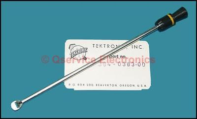 1 Pc Tektronix 384-0383-00 Power Switch Shaft Extension With Pull Knob -nos