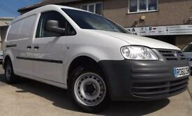 2010 60 Volkswagen Caddy Maxi Van 1.9TDI 104PS NO VAT Twin Sliding Doors
