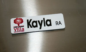 Custom Magnetic Name Tags