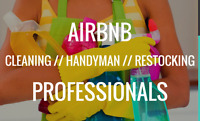 Cleaning for airbnb