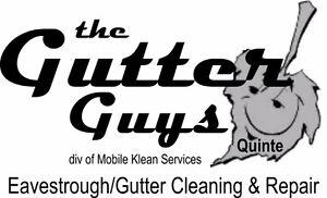 The Gutter Guys Quinte - Eavestrough Cleaning and Repair Belleville Belleville Area image 2