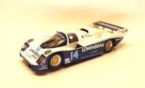 1:32 Slot It Porsche 962 No. 14 Lowenbrau Slot Car - MINT