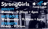#STRONGGIRLS GROUP TRAINING - Next level group fitness 4 women