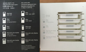 Old iPod dock inserts