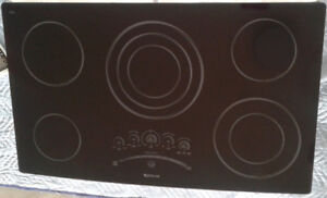 """Jenn-Air 36"""" electric cooktop for sale"""