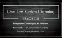 One Less Burden Cleaning