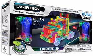 Laser Pegs 30 Models in 1 Big Rig Truck Light Up Set