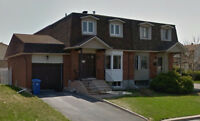 Brossard T section, semi-detached with garage