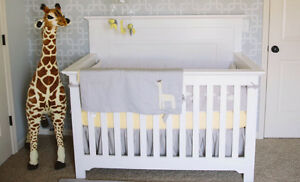 Grey or white crib - new in box