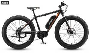XDS E-Fuse Fat Tyre E-Bike (Black Ember) 2019 rrp$2899 Concord West Canada Bay Area Preview
