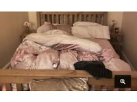 Wayfair Double Bed Frame, Good Condition