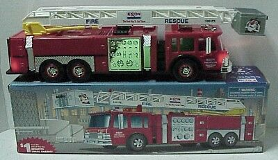 - 1998 Collector's Edition Fire Rescue Truck by Exxon 2 ft ladder fire truck