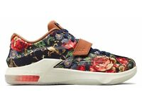 Nike KD 7 VII Ext Floral QS Size UK 7 8 8.5 9 Brand New