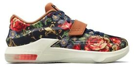 Nike KD 7 VII Ext Floral QS Size UK 7 8.5 9 Brand New