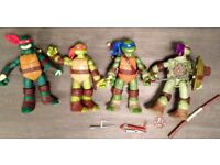 Large Teenage Mutant Ninja Turtle Figures