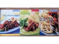 Weight Watchers Recipe Books x3