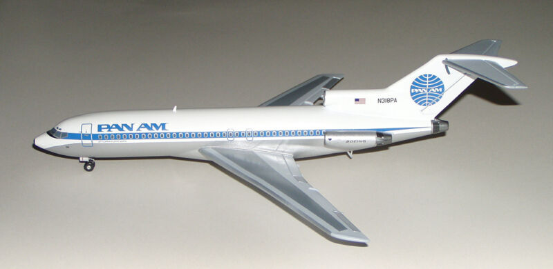 Giant 1/14 Scale Boeing 727 Plans, Templates and Instructions 90ws