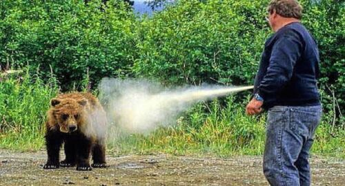 EPA UDAP ULTRA HOT Bear Defense Deterrent Repellent Pepper Spray