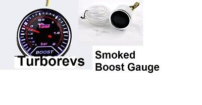 NEW JAGUAR X-TYPE S-TYPE SMOKED TURBO BOOST GAUGE