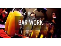 Looking for Bar Staff to work Festivals and Events - Mostly Weekends - Other Shifts also available