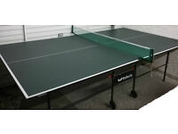 'Butterfly' Table Tennis Table Professional Size (9ftx5ft) w/Accessories, Good Working Condition