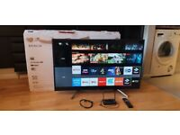 FREE LOCAL DELIVERY SONY KDL-50WF663 50 INCH UHD HDR+10 CERTIFIED 4K SMART TV £280 DELIVERED