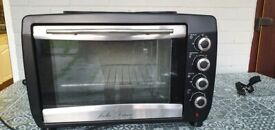 45 litre oven with twin hot plates