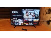 FREE LOCAL DELIVERY LG 43UH610V 43-INCH ULTRA HD 4K SMART + WEBOS IN EXCELLENT CONDITION