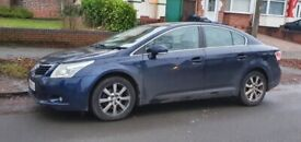 TOYOTA AVENSIS 1.8 TR AUTOMATIC 2009 BLUE FULL TOYOTA SERVICE HISTORY DRIVES PERFECT P/X WELCOME