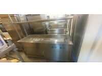 Hotcupboard Bains Marie with 2 tier heated gantry