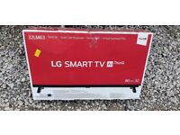 Brand new boxed LG 32 inch smart hd led tv with wifi, alexa, freeview hd