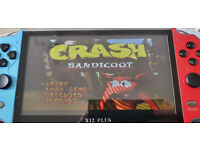 Brand New X12 7inch handheld games system with sd card