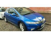 Blue Honda Civic Type S Gt I 2.2 cdti blue Full Mot