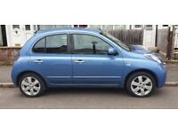 NISSAN MICRA 1.2 N-TEC AUTOMATIC 60 REG 5 DOOR 2 LADY OWNERS FULL NISSAN DEALER SERVICE HISTORY