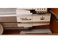 Swiss Made Passap Duomatic 80 Knitting Machine With Accessories .